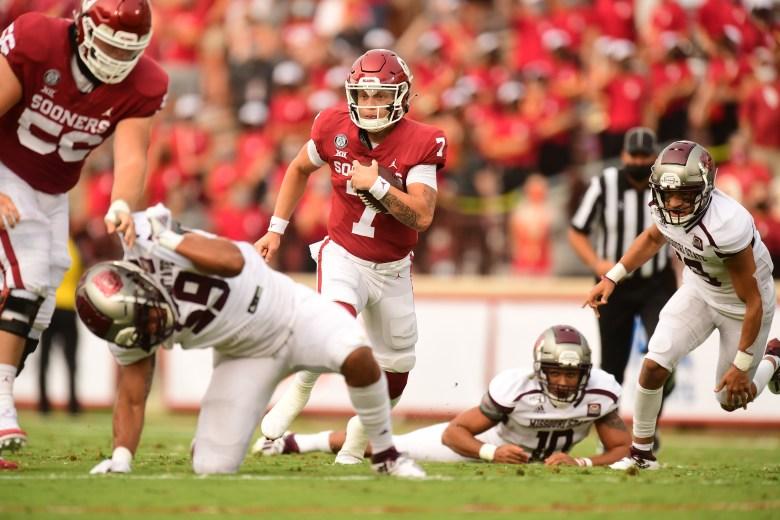 Oklahoma football: Oklahoma beats Missouri State 48-0 in opener