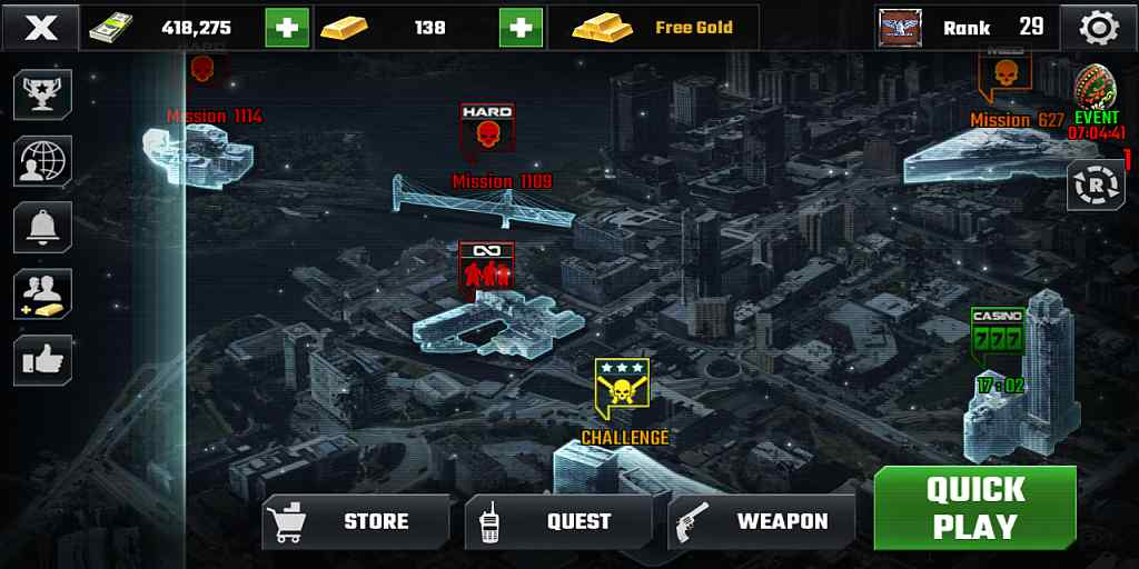 Review Android Game DEAD TARGET : Zombie