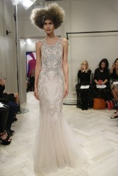 Badgley Mischka Bridal Fall 2014 // Photo credit: WWD.com