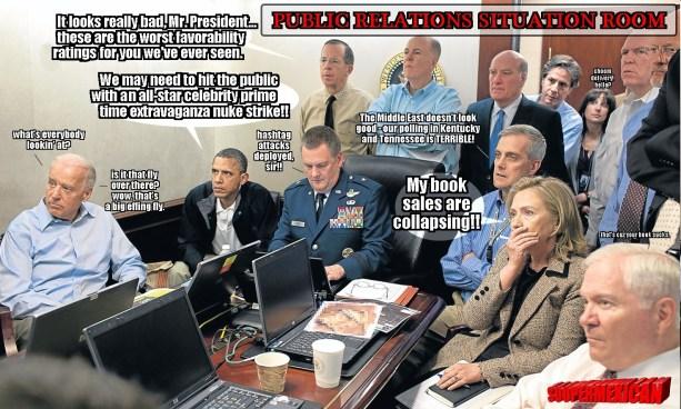 obama war room - MH17-SITUATION ROOM