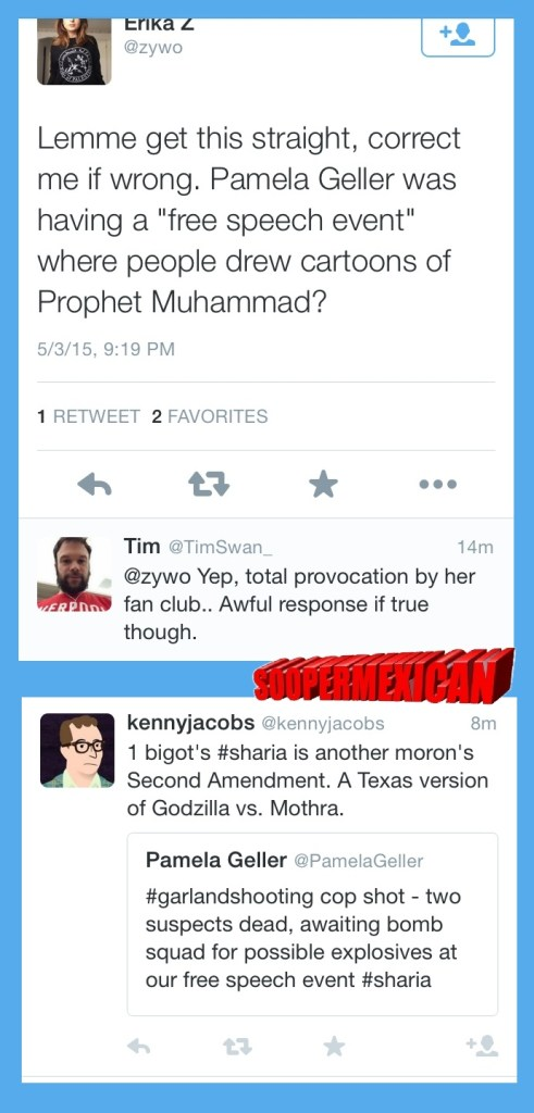 Garland tweets muslims blank big 01