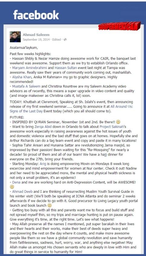 ahmad saleem facebook