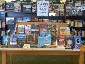 Barnes & Noble Local Author Showcase Table