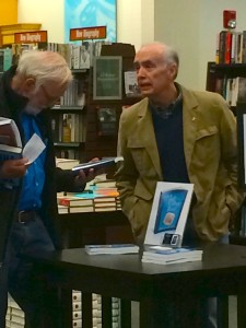 Eric Mondschein at his Barnes & Noble signing.