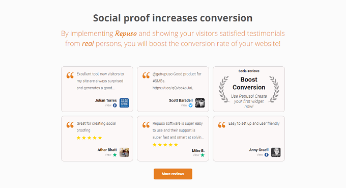 Social proof tools to add to your book landing page