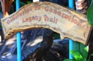 copper sign 2 Outdoor copper art - crane by Sooriya Kumar