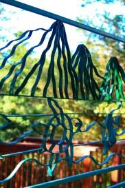 Garden and Gazebo Divider Panel Art