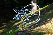 Garden Crane (bent steel)