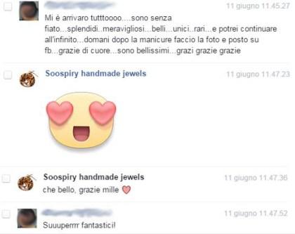 Message in facebook