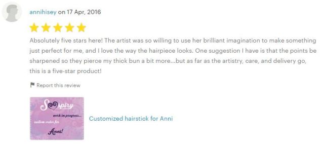 5stars review by Anni