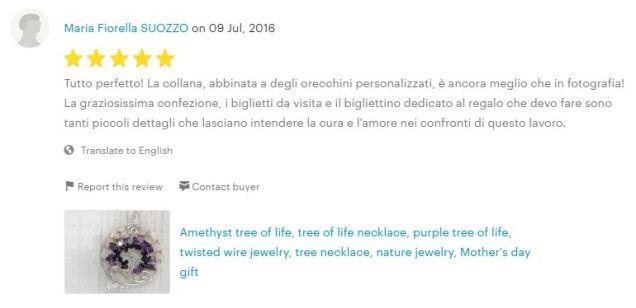 5stars review by Maria Fiorella