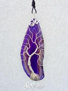 ciondolo-fetta-agata-viola-albero-della-vita-in-rame-placcato-argento-collana-wire-silver-plated-copper-wire-necklace-purple-agate-slice-tree-of-life-2