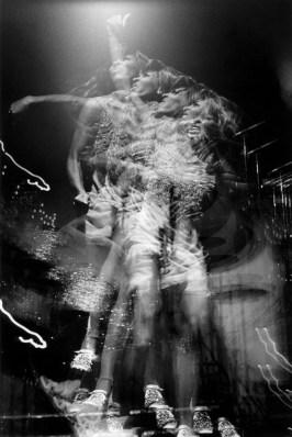 Tina Turner multiple image on stage at the Honka Monka Room, NYC. July 8, 1970. © Bob Gruen / www.bobgruen.com