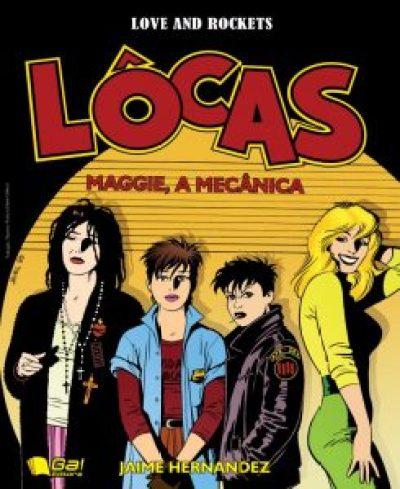 Capa Lôcas: Maggie, a Mecânica
