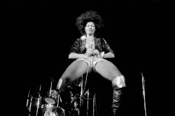 Bette Davis at Castellet festival 1976.