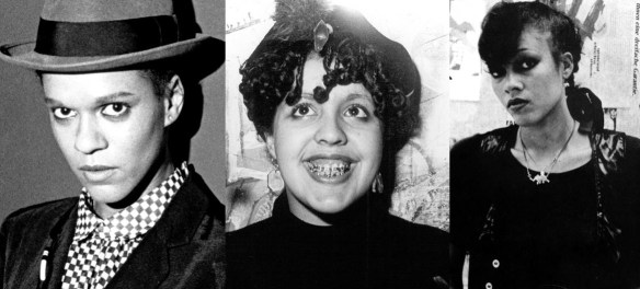 Mulheres Negras no Rock Poly Styrene, Pauline Black, Fancy Rosy