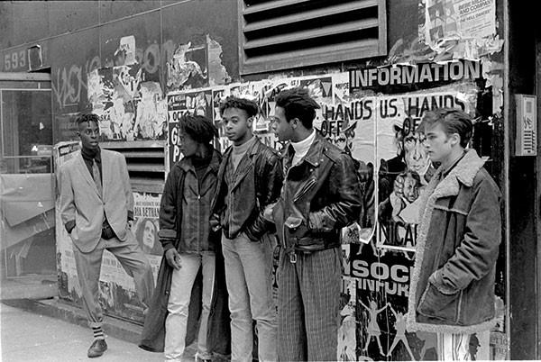The Veldt nos anos 1990. Foto: Michael Galinsky.