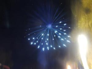 Fireworks at Plaza Salcedo