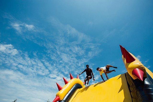 The Beast Inflatable Obstacle Course Perth