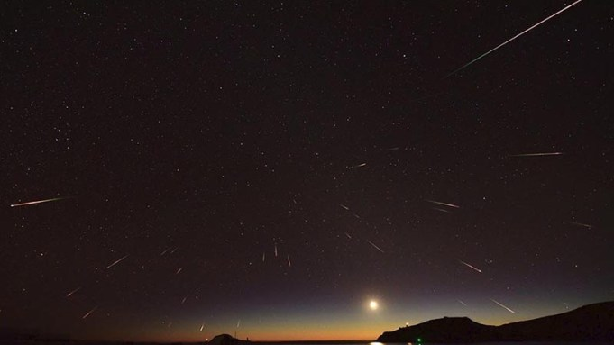 Eta Aquarids meteor shower Perth