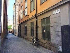Gamla Stan side street