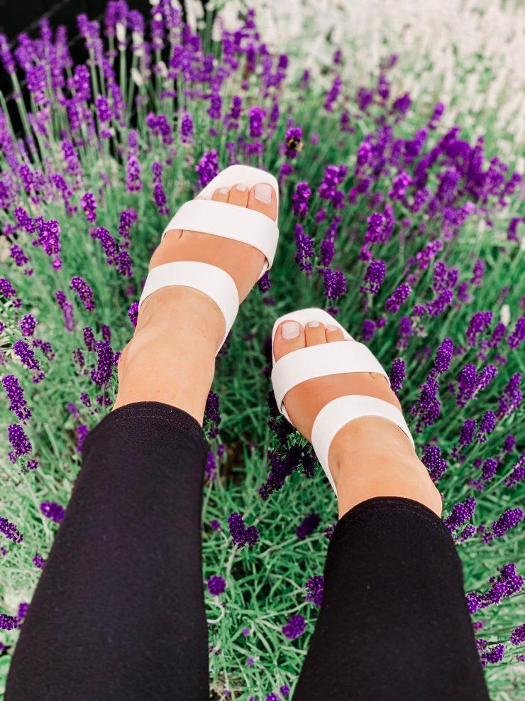 Topshop White Sandal