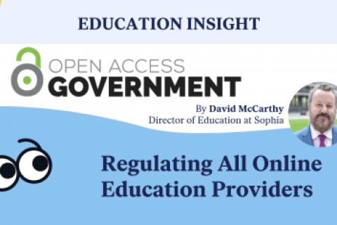 Regulating all online education providers