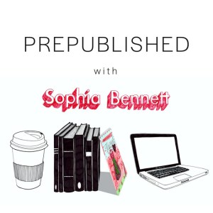 Icon for the Prepublished podcast, featuring artwork by Zoe More O'Ferrall