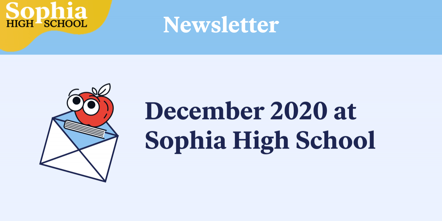 December Newsletter Cover