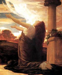 Clytie, by Frederic, Lord Leighton (1830-1896)