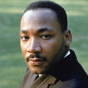 The Rev. Dr. King [Photo image from Biography.com]