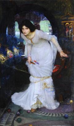 The Lady of Shalott (John William Waterhouse, 1894)