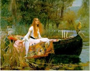 The Lady of Shalott (John William Waterhouse 1888)