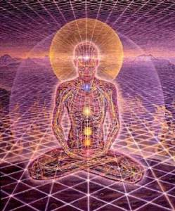 Cultivated 'light body'. From the beautiful and evocative imagery of Alex Grey (alexgrey.com)