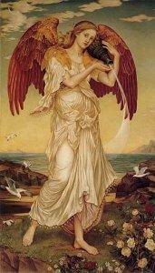 The Goddess Eos (1895), by Evelyn de Morgan.