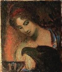 Pythia, by Adolf Frey Moock (1881-1954). Image courtesy of WikiCommons.