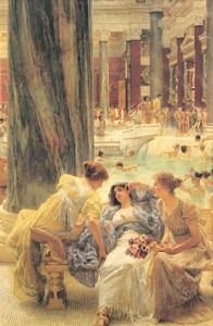 The Baths of Caracalla, by Sir Lawrence Alma-Tadema.