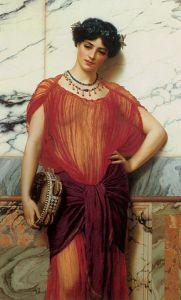 Drusilla, 1906, by John William Godward. [Image courtesy of WikiMedia]