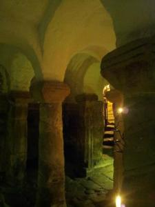 Light in the Crypt of St. Wystan Church, Repton, U.K. [Photo via TripAdvisor]