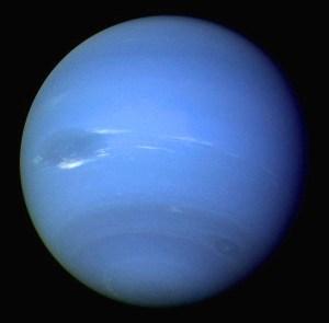 Neptune. Image courtesy of NASA and Wikimedia.