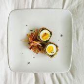 wild mushroom scotch egg