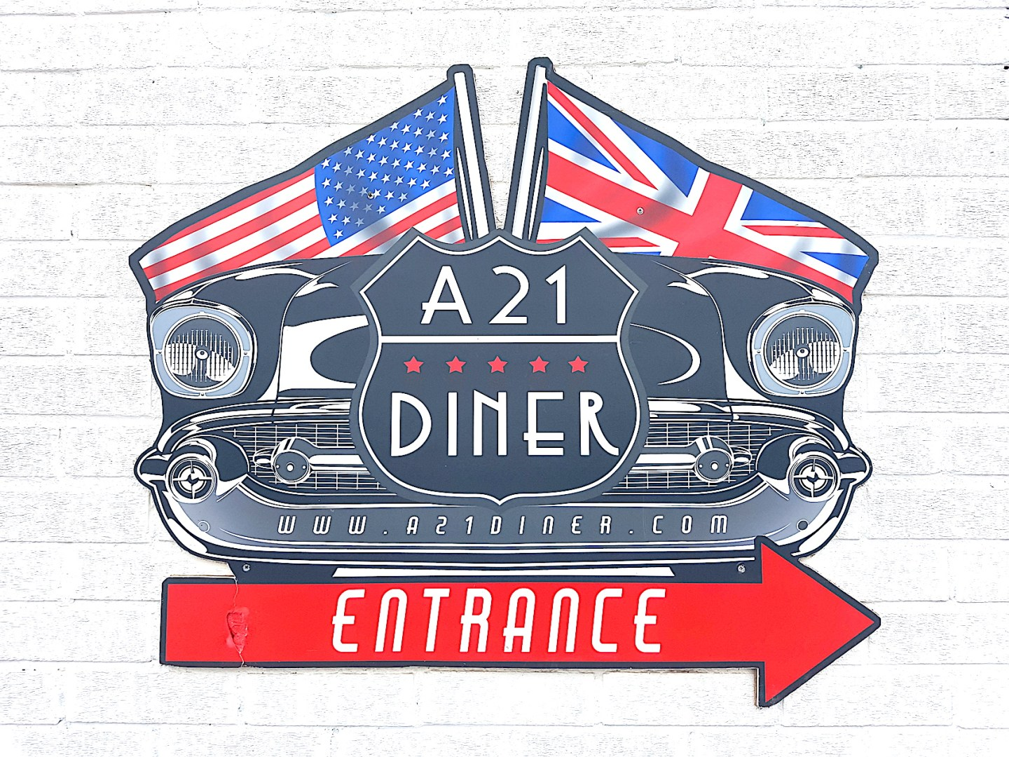 The A21 Diner – A Seriously Good Breakfast In a little taste of America