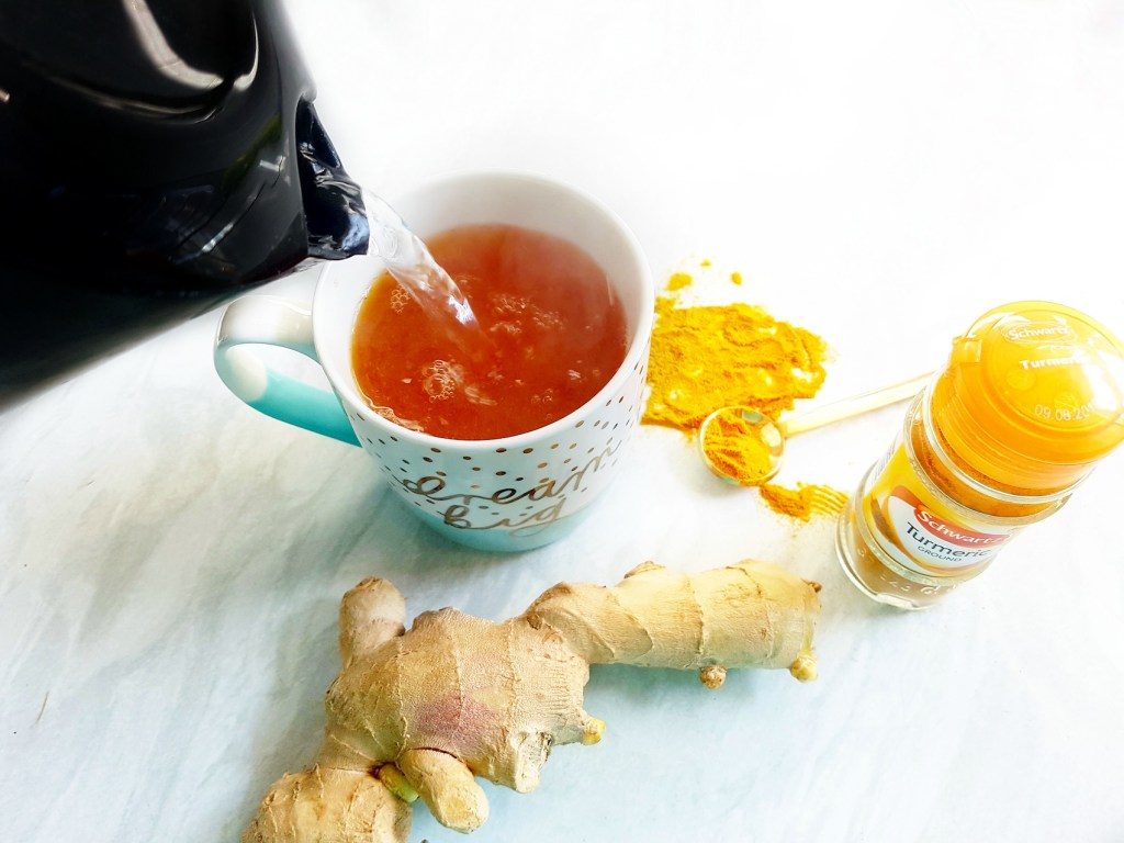 De Bloating Turmeric and Ginger Tea