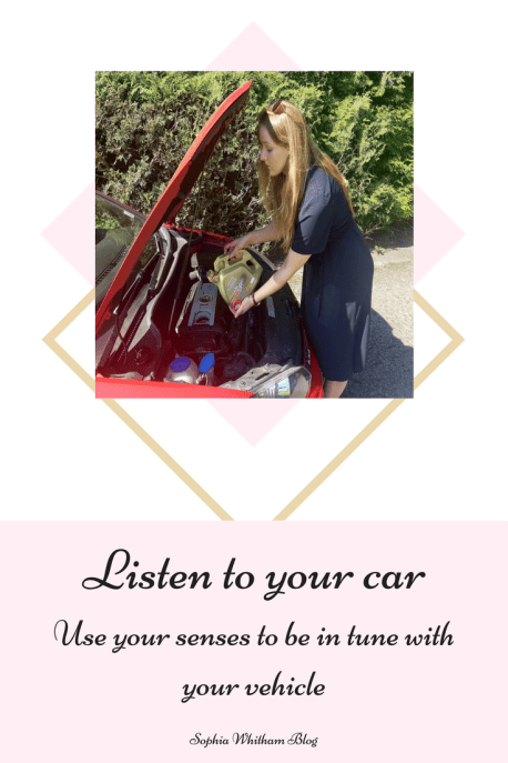 Listen to your car, safety, care
