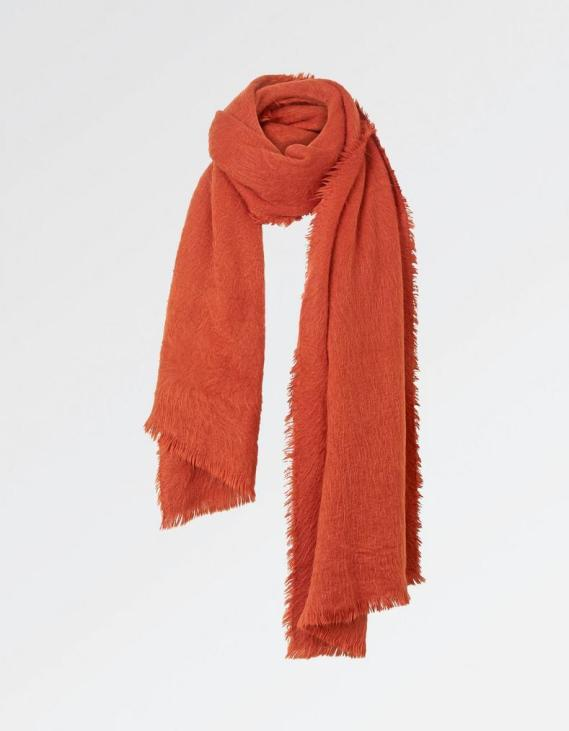 Fat Face Orange Scarf