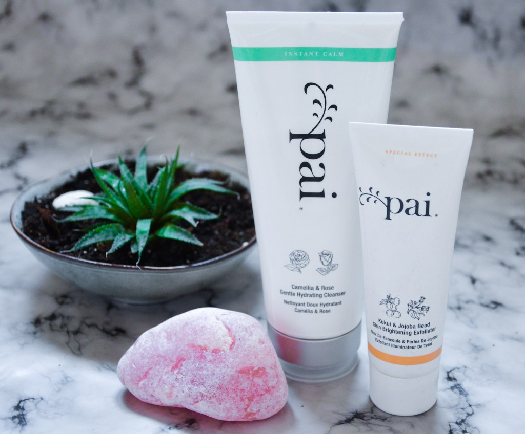 Pai skincare Review cleanser and exfoliator