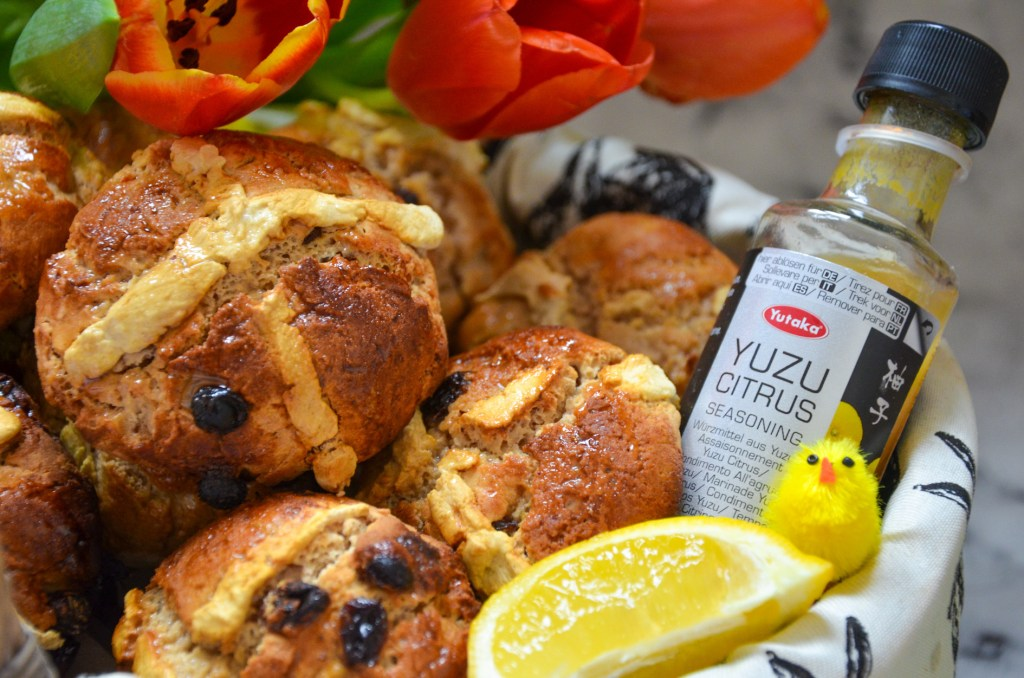 Yuzu hot cross buns recipe