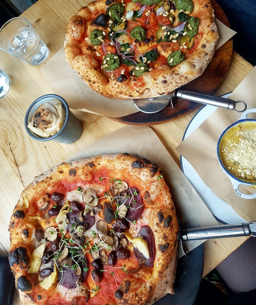 Purezza – Plant Based Pizza in Brighton –  A Review