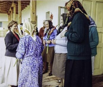 SAR La Princesse Sophie en visite dans un village roumain