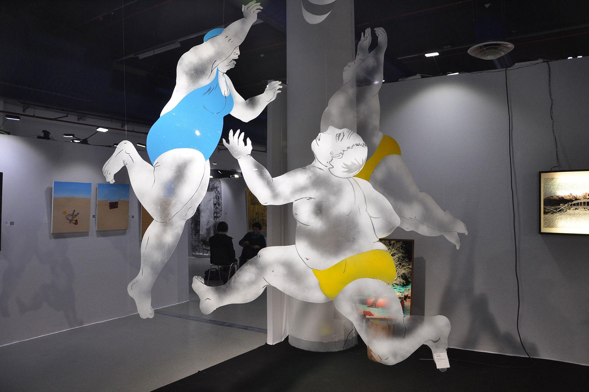 """""""La danse des seniors"""" au Salon des Hivernales de Montreuil en 2013"""